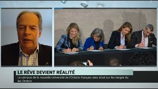 L'Université de l'Ontario français – Carol Jolin