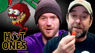 Sean Evans Gets Schooled on the Carolina Reaper by Smokin' Ed Currie | Hot Ones