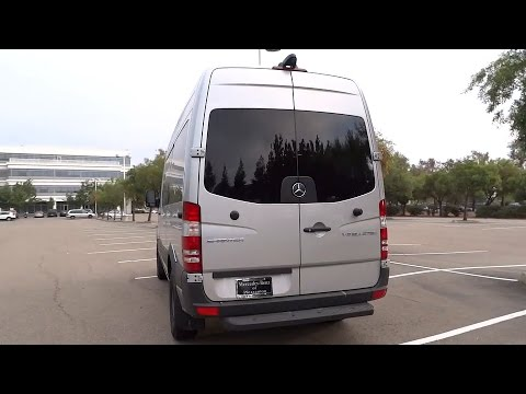 2015 mercedes benz sprinter passenger vans pleasanton for Mercedes benz livermore