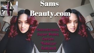 BUDGET FRIENDLY WIG/ SAMS BEAUTY/ NATALIA BEFORE AND AFTER