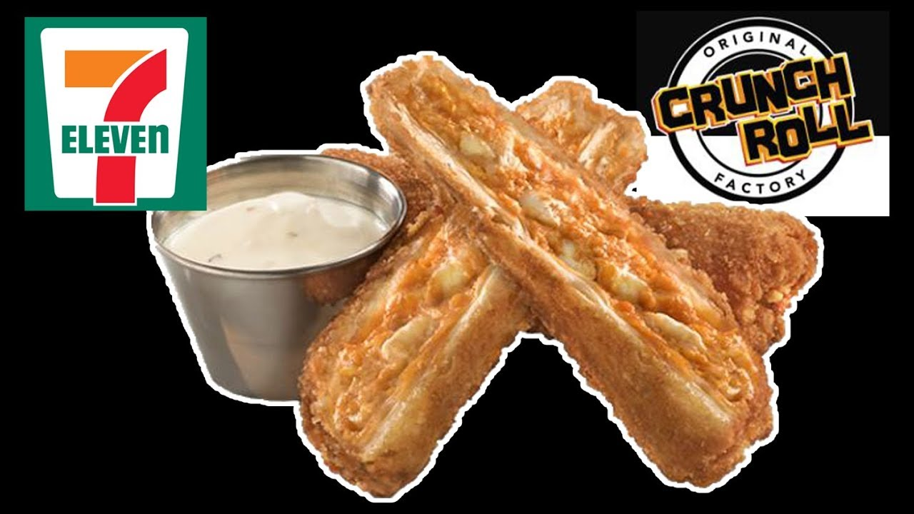 Super 7-11 Buffalo Chicken CRUNCH ROLLS! - WHAT ARE WE EATING?? - The SX-92
