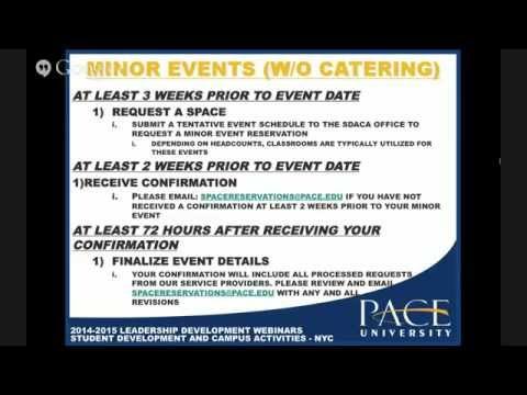 Event Planning Webinar