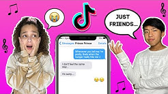 Tik Tok LYRIC TEXT PRANK On My CRUSH **GONE WRONG** | Corinne Joy ft. Gavin Magnus
