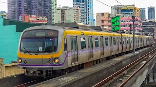 RailWay. Manila Light Rail Transit System. Megatren - LRT Line 2 / Метрополитен Манилы. LRT-2