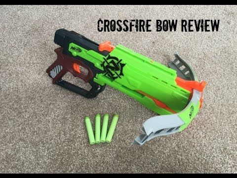 Nerf Zombie Strike Crossfire Bow Unboxing & Review