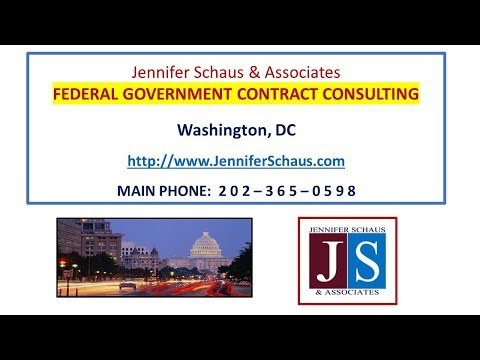 Government Contracting - (M&A) Mergers & Acquisitions - Federal Contracting