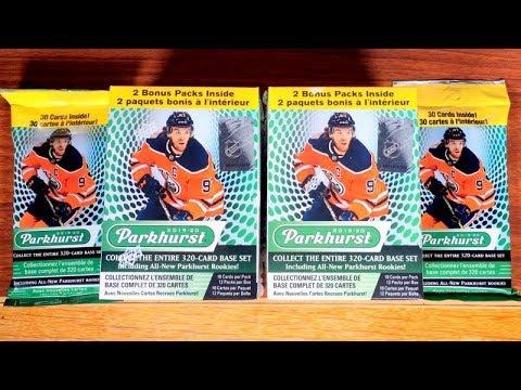 19/20 Upper Deck Parkhurst Hockey Retail Opening