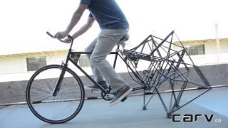 Walking Bike in Action