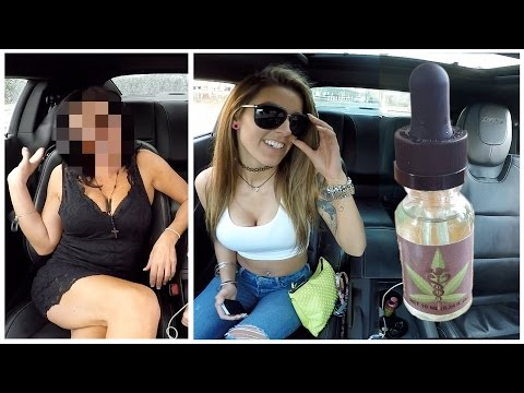 Getting My Tinder Date High Experiment! Weed Vape Prank!