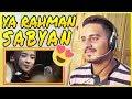 ROHMAN YA ROHMAN COVER BY SABYAN REACTION