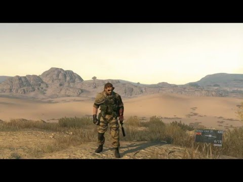 Metal Gear Solid V The Phantom Pain - Drop Weapon Button Input
