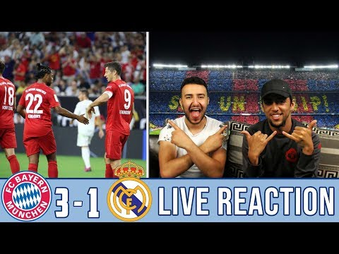 BARCELONA FANS REACT TO: BAYERN 3-1 WIN OVER REAL MADRID  REACTION