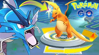 Pokemon Go - FIRST CHARIZARD FOUND On Gym Battle Vs VAPOREON Pokemon Go Gameplay!