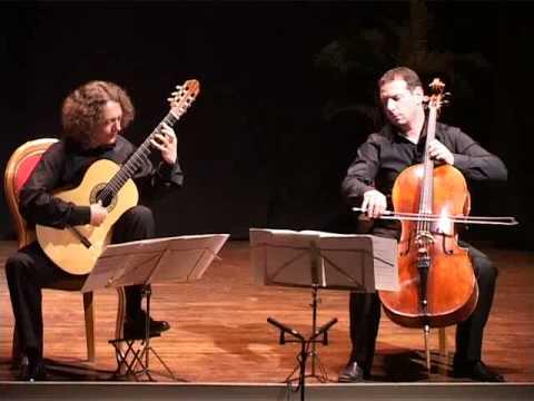 Cello and Guitar