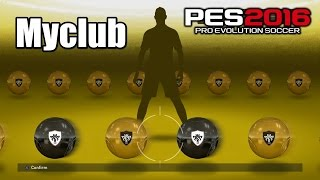 PES 2016 First 30 Minutes of MyClub Gameplay