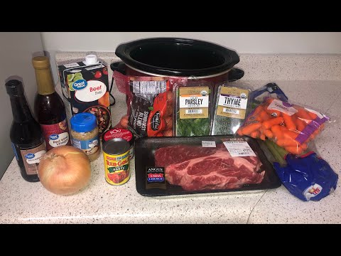 Pot Roast Recipe | Easy Crockpot Dinners