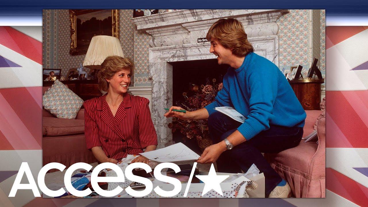 Princess Diana\'s Wedding Dress Designer David Emanuel Shares ...