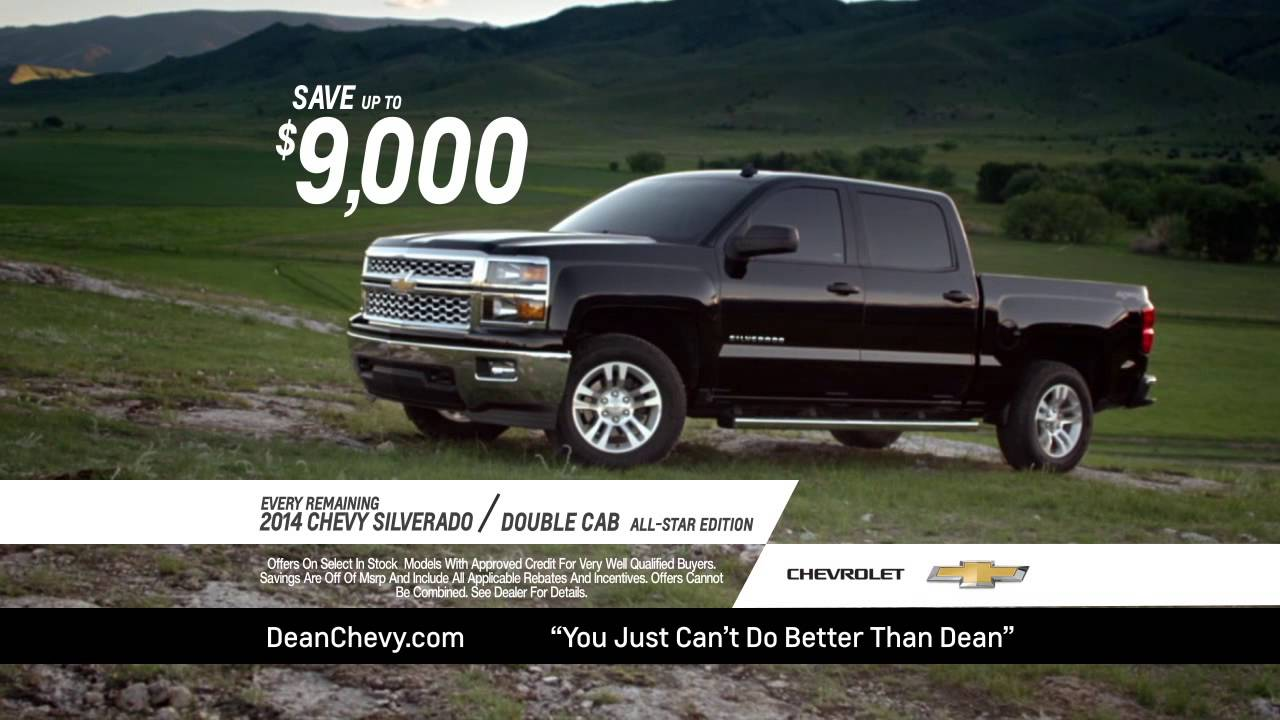 Roger Dean Chevy >> Truck Month At Roger Dean Chevrolet