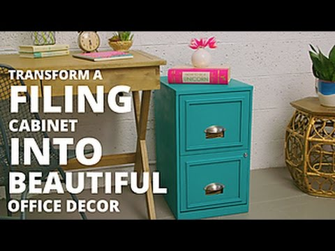 Transform a Filing Cabinet With Chalk Paint - HGTV