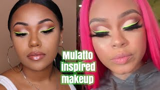 MULATTO INSPIRED MAKEUP LOOK | MISS MULATTO | jazminekiah