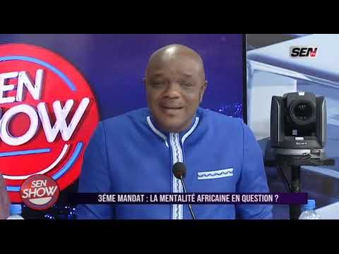 Babacar Mbaye Ngaraf parlait du 3 ème mandat c'est donner c