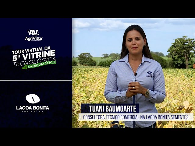 Tuani Baumgarte, Consultora Técnico Comercial na Lagoa Bonita Sementes.