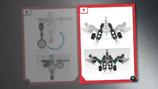 Transformers Wheeljack Construct-bots Action Figure Toy | Instructional Video For Transformation