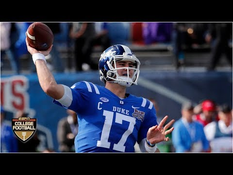 Daniel Jones accounts for 6 TDs as Duke throttles Temple | Walk-On's Independence Bowl Highlights
