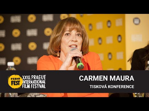 Carmen Maura | Tisková konference MFF Praha - Febiofest