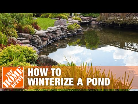 How To Winterize A Pond   The Home Depot   YouTube
