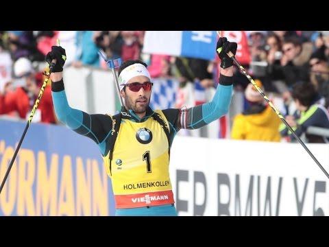 Martin Fourcade - Mass-Start Oslo 2017