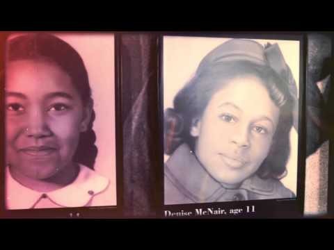 Remembering Addie Mae Collins, Cynthia Wesley, Carole Robertson, and Denise McNair