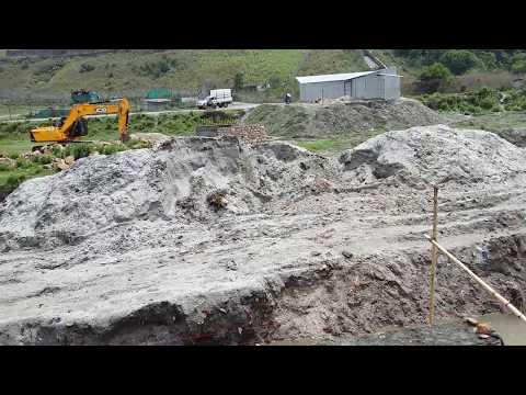 Bagmati River Corridor Construction For Green Park