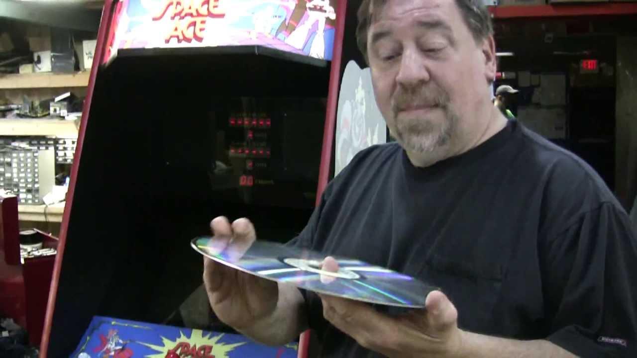 238 Cinematronics Laser Disc Space Ace Animated Arcade
