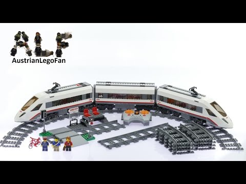 Lego City 60051 High Speed Passenger Train - Lego Speed Build Review