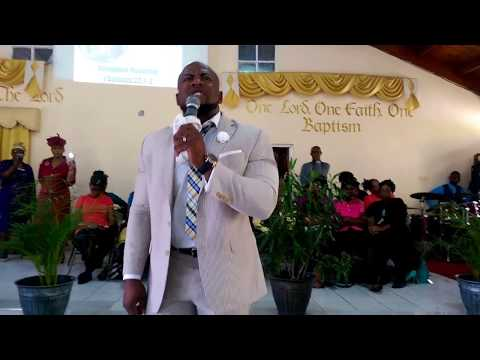 Elder Mark Scott Ministers at H.B.A.C Heartease, Jamaica
