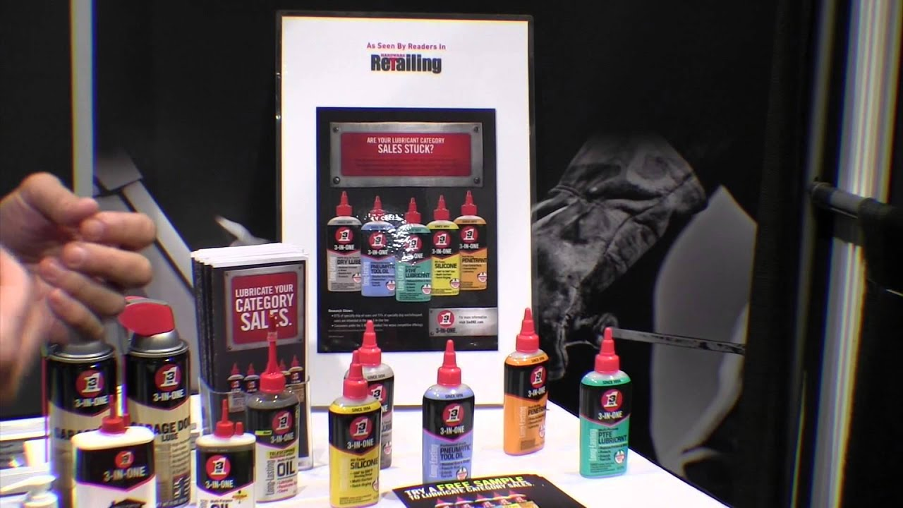 3 in one oil lineup from the national hardware show by the weekend handyman youtube