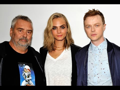 "Luc Besson, Dane DeHaan and Cara Delevingne on ""Valerian and the City of a Thousand Planets"""