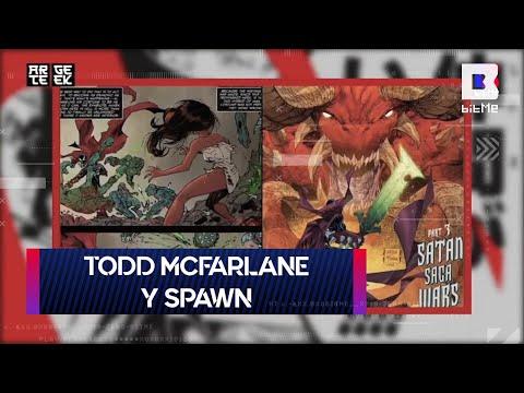 Todd McFarlane y Spawn | Arte Geek