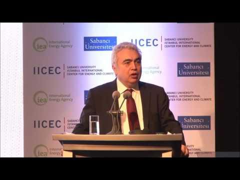 World Energy Outlook 2016/ Turkey Presentation by Dr. Fatih Birol