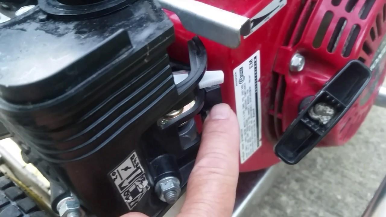 Honda Gx200 6 5 Engine Won T Start