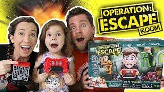Operation Escape Room Game