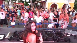 DJ FLOWER aka Virag Voksan @ Kiss & Fly Carnival of Olinda 2013, BRAZIL part3