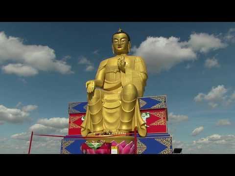 Лагань Освящение статуи Будды Майтреи