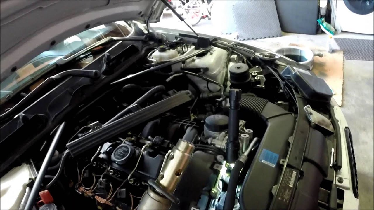 How to cleanreplace your Vanos Solenoid on a BMW 335i  135i (N54)  YouTube