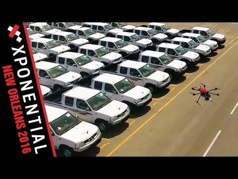 .UHF RFID 無人機在跟蹤車輛和資產方面的應用