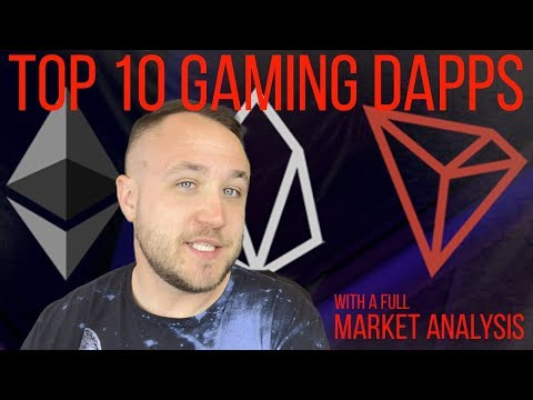 THE TOP 10 GAMING DAPPS ON TRON, EOS, AND ETHEREUM