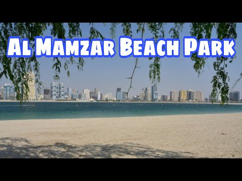 Vlog09 Al Mamzar Beach Park Dubai UAE    early morning walk with friends #reachyjudit