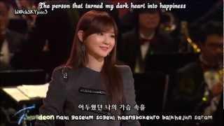 Davichi - Hot Stuff LIVE [eng sub+kara roman]