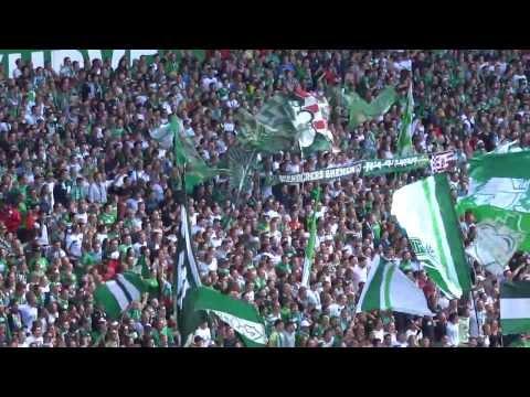 SV Werder Bremen - Weser-Stadion - Ostkurve - Die besten Fans der Welt - 17.08.13 - HD